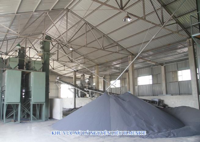 Công ty CP Khoáng sản Quảng Trị: Phát triển sản xuất gắn với bảo vệ môi trường
