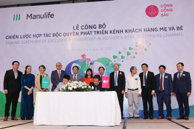 Manulife Vietnam and Cong Dong Bau Empower Families to TakeControl of Their Financial Future