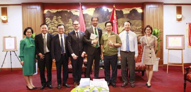 Heineken đề xuất với Chủ tịch VCCI nhiều sáng kiến phát triển bền vững