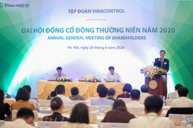 Vinacontrol Group tổ chức thành công đại hội cổ đông