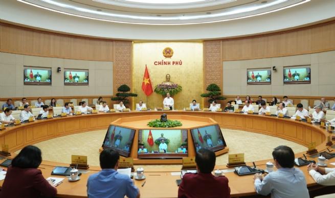 Chính phủ họp phiên thường kỳ tháng 5/2020