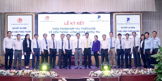 VNPT Long An: Đồng hành cùng Long An  xây dựng chính quyền điện tử