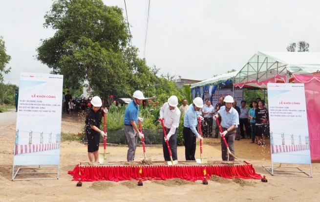 Khởi công xây dựng 9 cây cầu mới tại Huyện Tân Hưng (Long An)