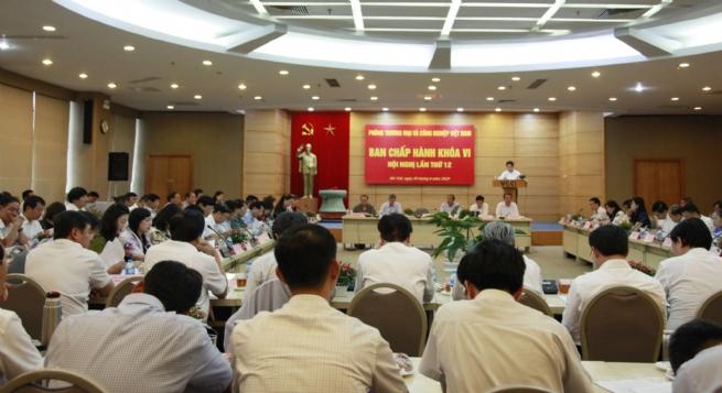 Hội nghị Ban Chấp hành VCCI lần thứ 12 khoá VI