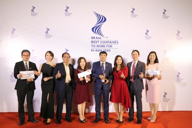 """HDBank được vinh danh """"nơi làm việc tốt nhất châu Á"""""""