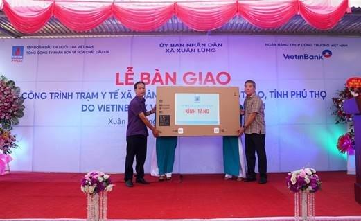 Khánh thành Trạm y tế xã Xuân Lũng, huyện Lâm Thao, tỉnh Phú Thọ
