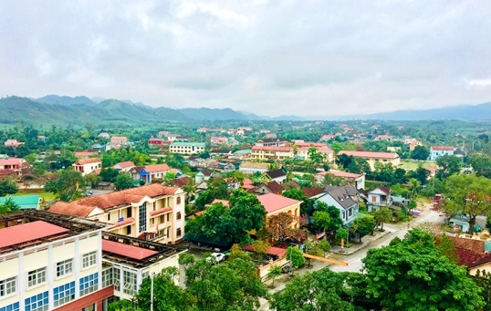 Huyện Tuyên Hóa: Chú trọng thu hút nguồn vốn đầu tư, hoàn thiện kết cấu hạ tầng