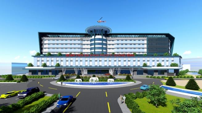 """Khát vọng xây bệnh viện """"5 sao""""  trên quê hương Quảng Bình"""
