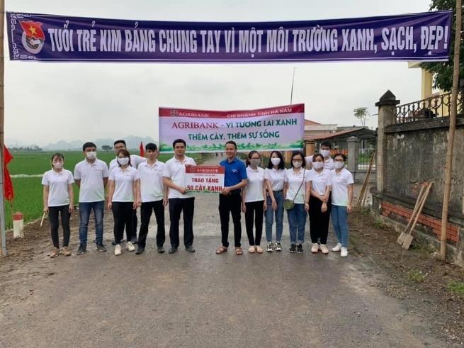 Agribank Hà Nam: Luôn đồng hành và  mang phồn thịnh đến khách hàng