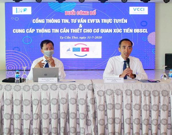 VCCI Cần Thơ mở cổng thông tin tư vấn EVFTA cho doanh nghiệp xuất khẩu