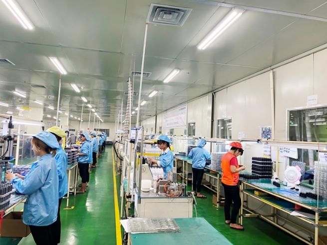 Công ty TNHH SamJin LND Vina (khu công nghiệp Bá Thiện II): Quan tâm đời sống của người lao động