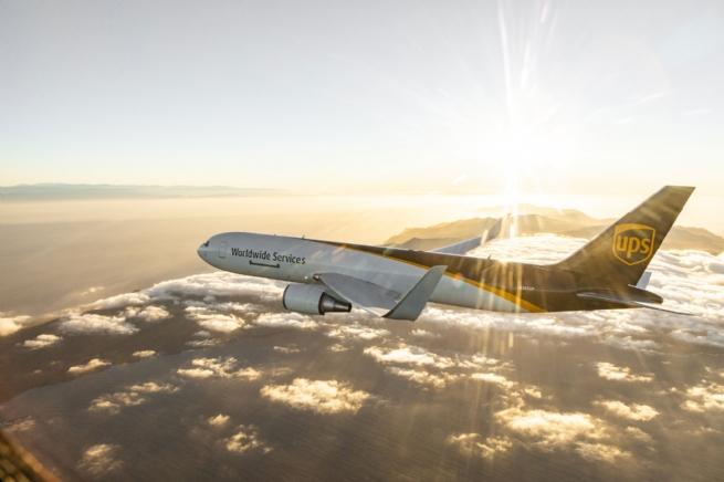 """Chào đón chuyến bay mang biểu tượng """"Browntail"""" của UPS lần đầu đến Việt Nam"""