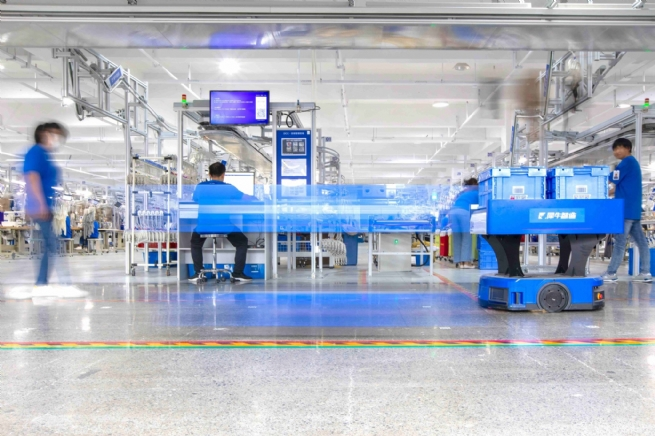 Alibaba Unveils New Manufacturing Digital Factory