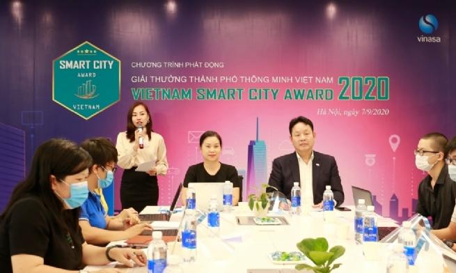 Lần đầu tiên phát động giải thưởng thành phố thông minh Việt Nam
