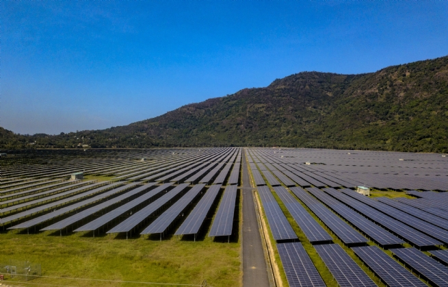 An Giang: Hoàn thành nhà máy điện năng lượng mặt trời hơn 6.000 tỷ đồng