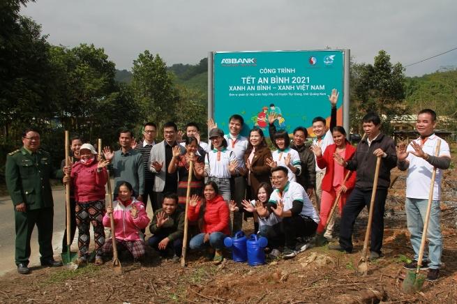 """Tết An Bình 2021 """"phủ xanh"""" vùng biên giới huyện Tây Giang (Quảng Nam)"""