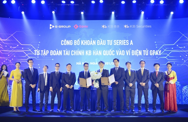 Ví Gpay nhận vốn đầu tư từ Hàn Quốc với định giá 425 tỷ đồng