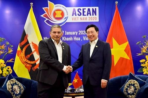 Tăng cường phối hợp Việt Nam-Brunei vì một ASEAN thịnh vượng