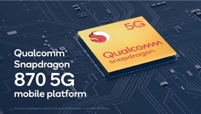 Qualcomm giới thiệu nền tảng di động cải tiến Snapdragon 870 5G
