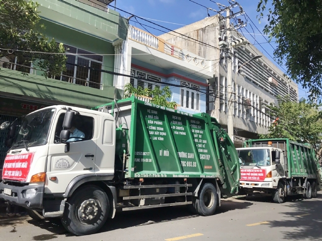 Công ty CP Môi trường đô thị Phú Yên: Vì môi trường xanh - sạch - đẹp,  phát triển bền vững