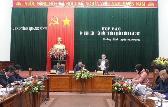 """Hội nghị xúc tiến đầu tư tỉnh Quảng Bình năm 2021: """"Quảng Bình - Tiềm năng, an toàn và khác biệt"""""""