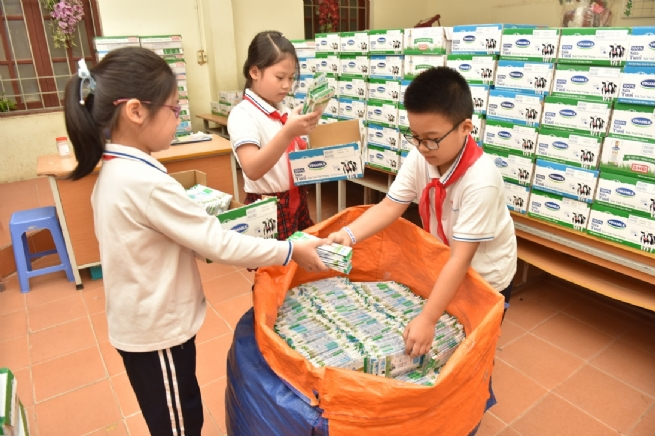 "The ""Carton collecting Competition"" Helps to Double the Cartons Collected"