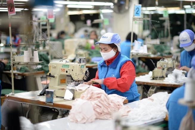 Khu công nghiệp khôi phục sản xuất, thu hút người lao động trở lại làm việc