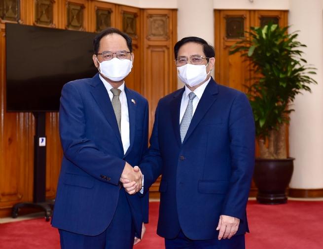 Việt Nam là đối tác đầu tiên được Hàn Quốc hỗ trợ song phương về vaccine
