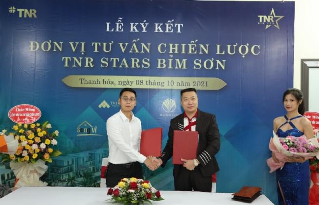 May - Diêm Sài Gòn chính thức ký kết gói tư vấn thông tin Dự án TNR Stars Bỉm Sơn