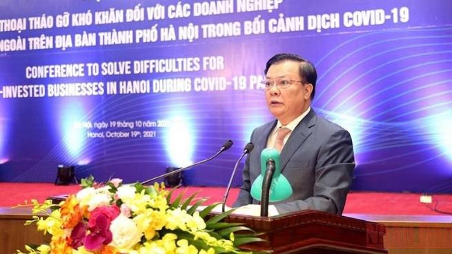 Hà Nội sẵn sàng mọi điều kiện đón các nhà đầu tư nước ngoài