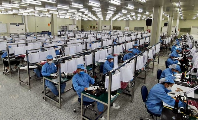 Doanh nghiệp trong các KCN Vĩnh Phúc cần tuyển số lượng lớn lao động