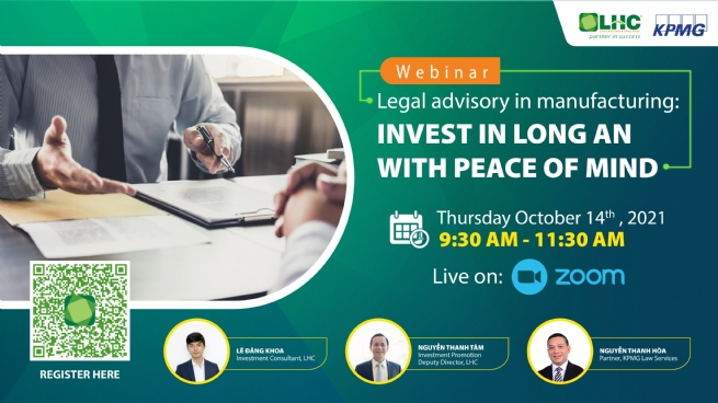 Legal Advisory in Manufacturing: Invest in Long An with Peace of Mind