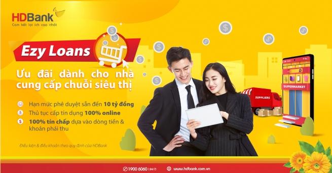 HDBank tiếp sức nguồn vốn ưu đãi cho nhà cung cấp siêu thị