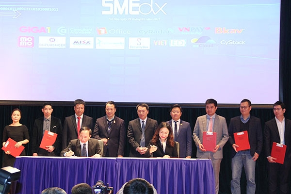 Lễ khởi động Chương trình Hỗ trợ doanh nghiệp nhỏ và vừa chuyển đổi số SMEdx