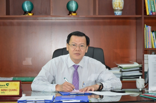 Vietcombank Binh Duong Actively Supporting Businesses