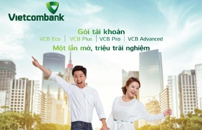 Vietcombank ra mắt 4 gói tài khoản đặc biệt vượt trội dành cho khách hàng cá nhân