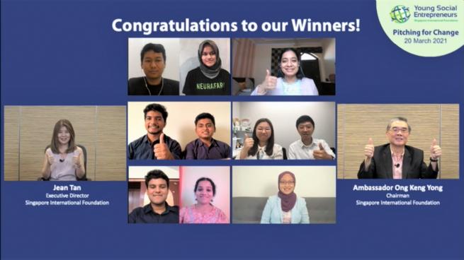 Cơ hội đăng ký tham gia chương trình Doanh nhân xã hội trẻ toàn cầu 2021 phiên bản số hóa của Quỹ quốc tế Singapore