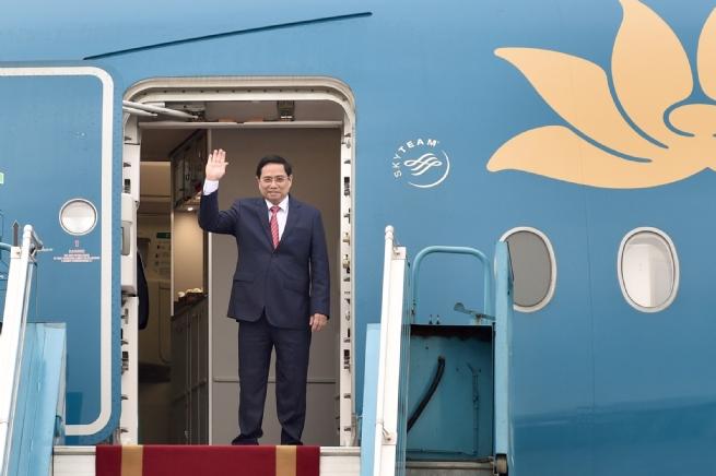 Thủ tướng Phạm Minh Chính lên đường tham dự Hội nghị các Nhà Lãnh đạo ASEAN