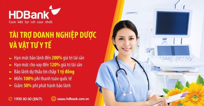 HDBank tiếp tục đẩy mạnh hỗ trợ DN cung cấp dược, thiết bị – vật tư y tế