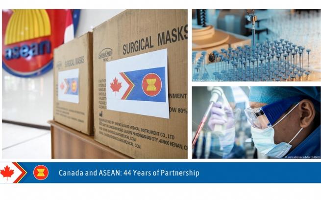 Hợp tác giữa Canada và ASEAN ứng phó với đại dịch COVID-19