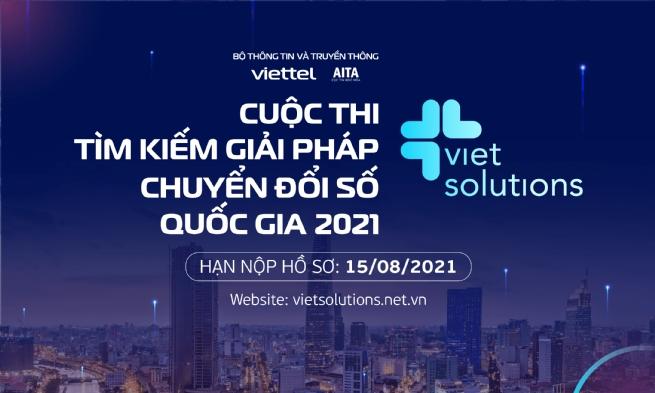 Viet Solution 2021 cùng cộng hưởng để kiến tạo xã hội số