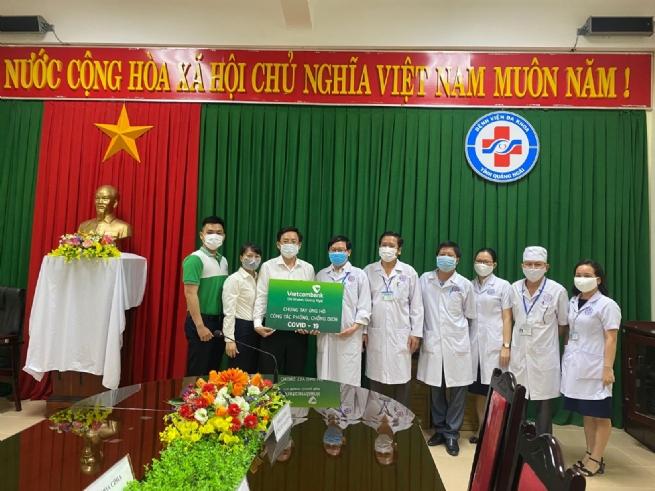 """""""Điểm sáng"""" Vietcombank Quảng Ngãi"""