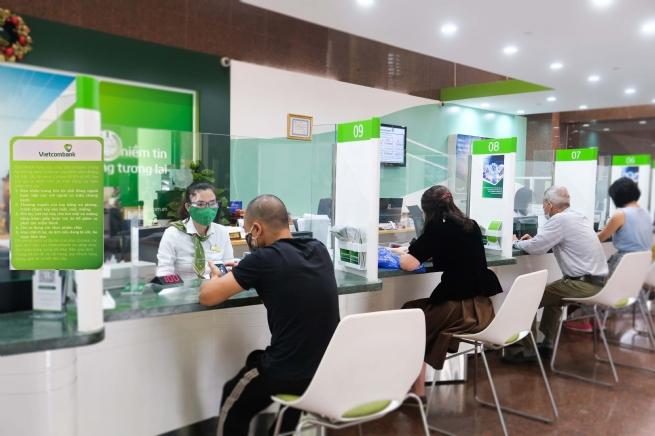 Vietcombank giảm lãi suất tiền vay hỗ trợ khách hàng bị ảnh hưởng bởi đại dịch Covid 19
