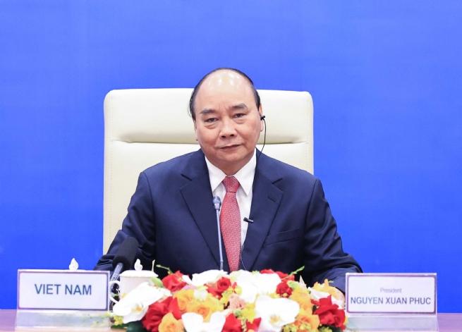Chủ tịch nước đề xuất 3 nội dung hợp tác APEC ứng phó COVID-19