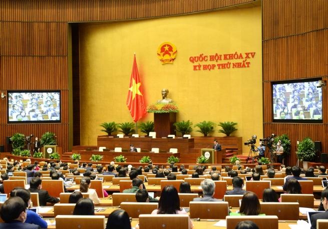 Khai mạc kỳ họp thứ nhất, Quốc hội khóa XV
