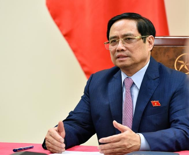 Thủ tướng Phạm Minh Chính điện đàm với Tổng thống Philippines