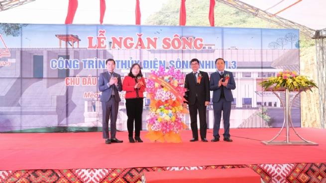 Công ty CP LICOGI 13: Hòa nhịp cùng sức bật Hà Giang với  Dự án Thủy điện Sông Nhiệm 3