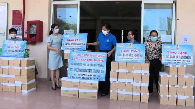 Nestlé Việt Nam chống dịch cùng các tỉnh, thành phía Nam