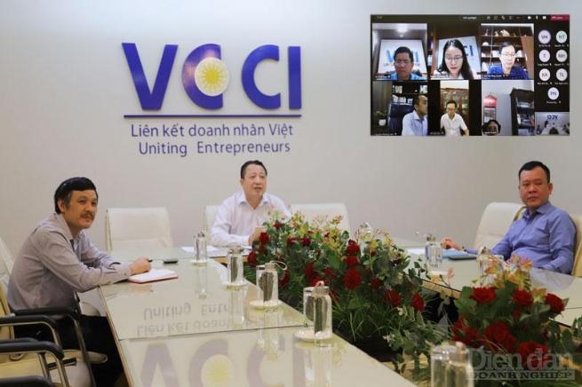 VCCI thúc đẩy chuyển đổi số để hợp tác doanh nghiệp ứng phó COVID-19