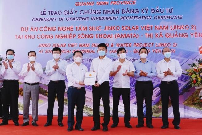 Doanh nghiệp FDI đầu tư gần 20.000 tỷ triển khai liên tiếp 2 dự án tại Quảng Ninh